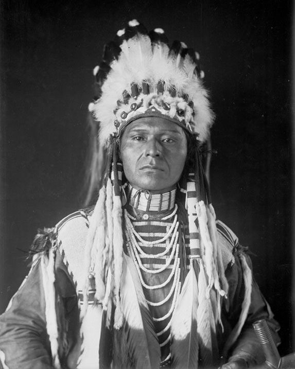 The American Indian called Blanket Of The Sun of the Nez Perce Nation 1908.