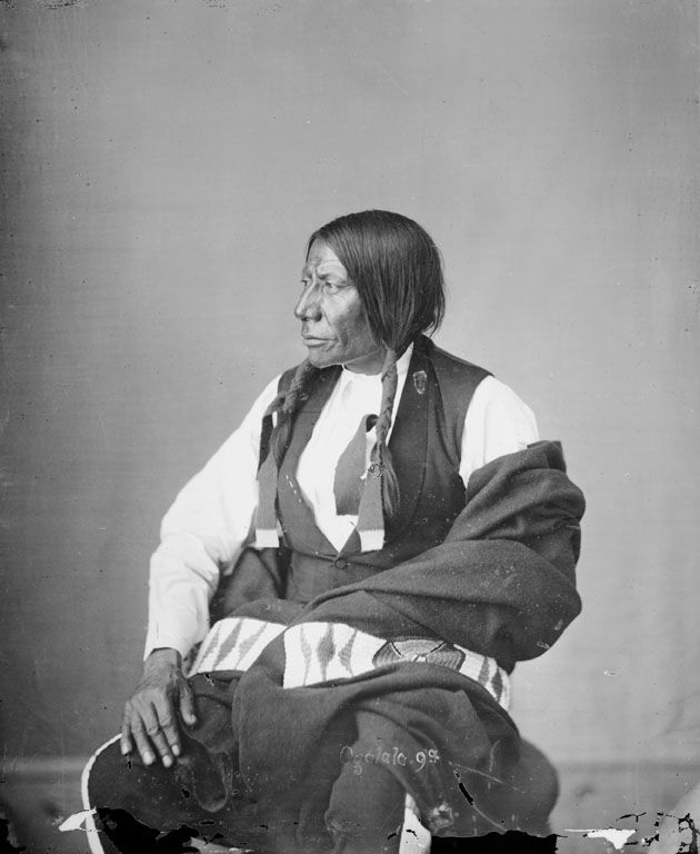 Blue Horse, An American Indian of the Oglala Nation 1872.
