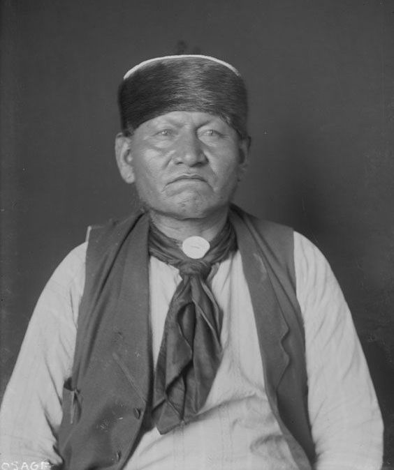 Bone Heart, An American Indian of the Osage Nation 1906.