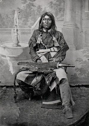 The American Indian known as Captain Jack.