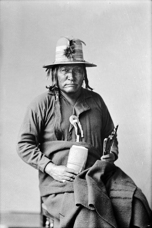 Captain Jim, An American Indian of the Shoshoni Nation 1880.