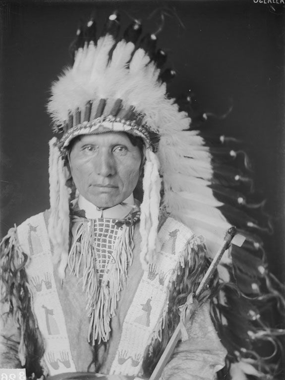 An American Indian known as Charles Turning Hawk of the Oglala Nation 1906.