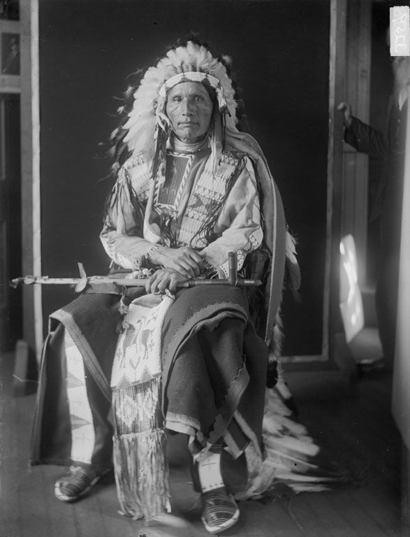Charles Turning Hawk, An American Indian of the Oglala Nation 1909.