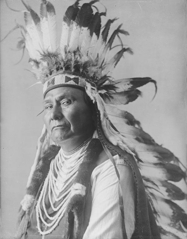 Chief Joseph, An American Indian of the Nez Perce Nation 1900.