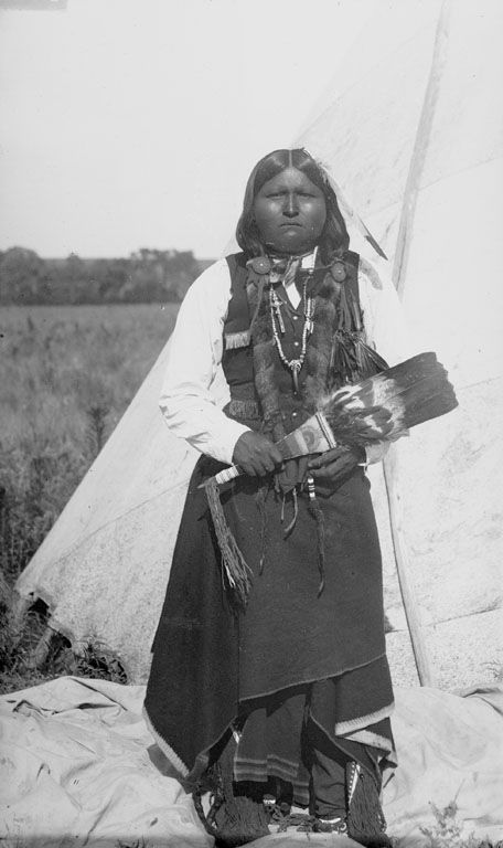 Another photograph of a Comanche Indian Man 1891.