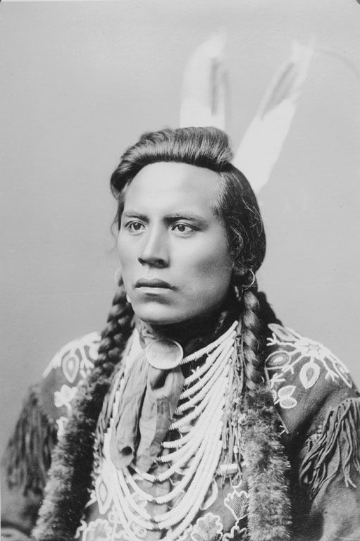 The American Indian called Curly (Curley) of the Crow Nation (scout for General Custer in 1876).