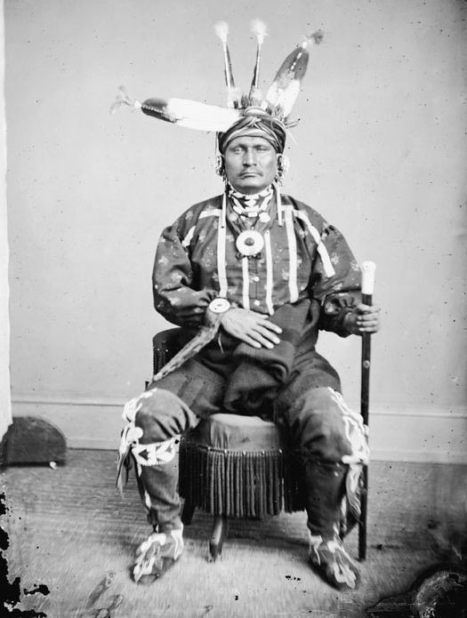 Deer Thigh - Iowa 1869.