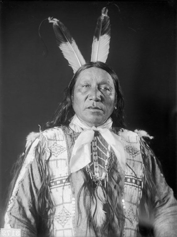 An American Indian called Eagle Horse - Sicangu 1909.
