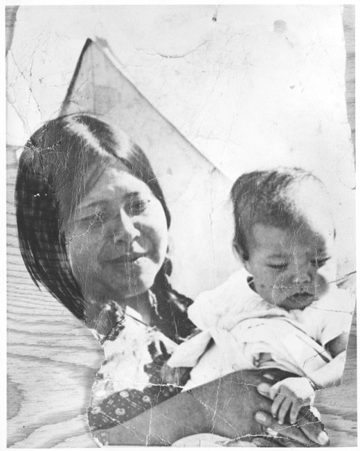 Two American Indians, Fanny and Bruce Sunchild.