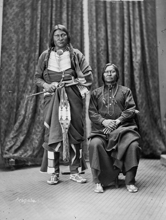 Friday Crazy Bull, An American Indian of the Arapaho Nation 1873.