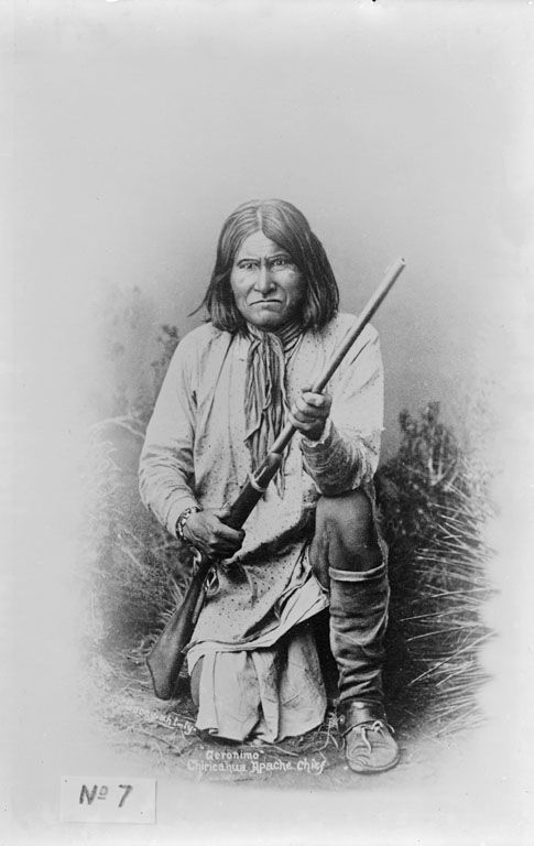 Goyathlay [One Who Yawns] - Chiricahua Apache 1886.