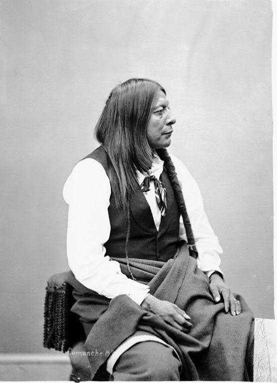 A Comanche Indian named He Goat 1872.