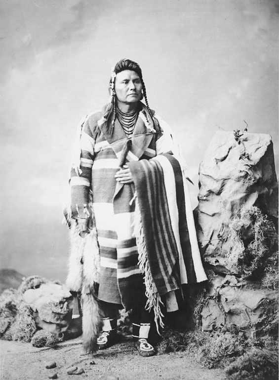 Hin-ma-toe-Ya-lut-kiht aka Chief Joseph - Nez-Perce 1877.