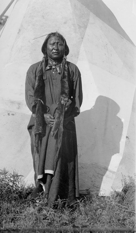 A Comanche Indian called Hot Coffee 1894.