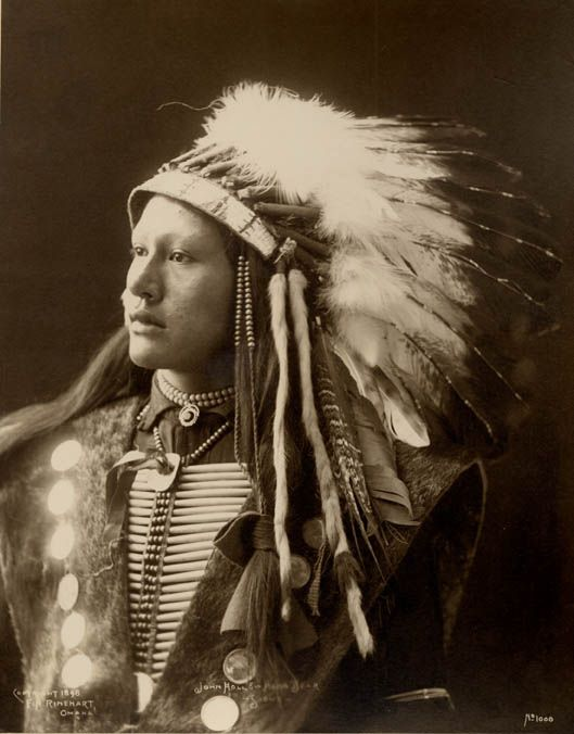 The American Indian called John Hollow Horn Bear.