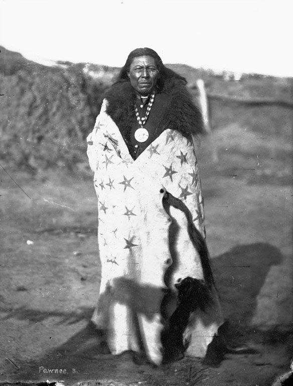 A Pawnee Indian, La Roo Chuck A La Shar [Sun Chief].