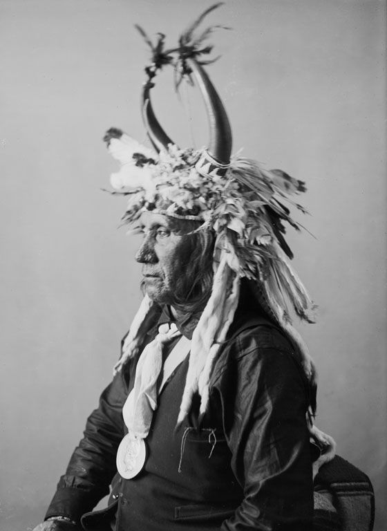 A Pawnee Indian called Lisha Lalahikots [Brave-Chief].