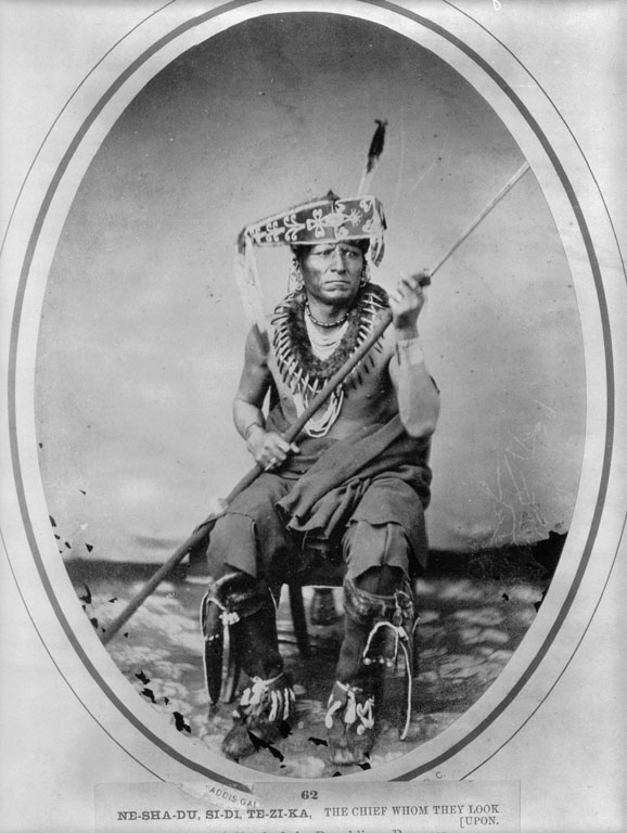 American Indians : The Chief Whom They Look Upon - Pawnee.