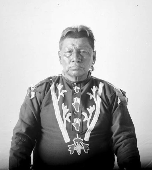 American Indians : Playful Chief - Osage 1898.