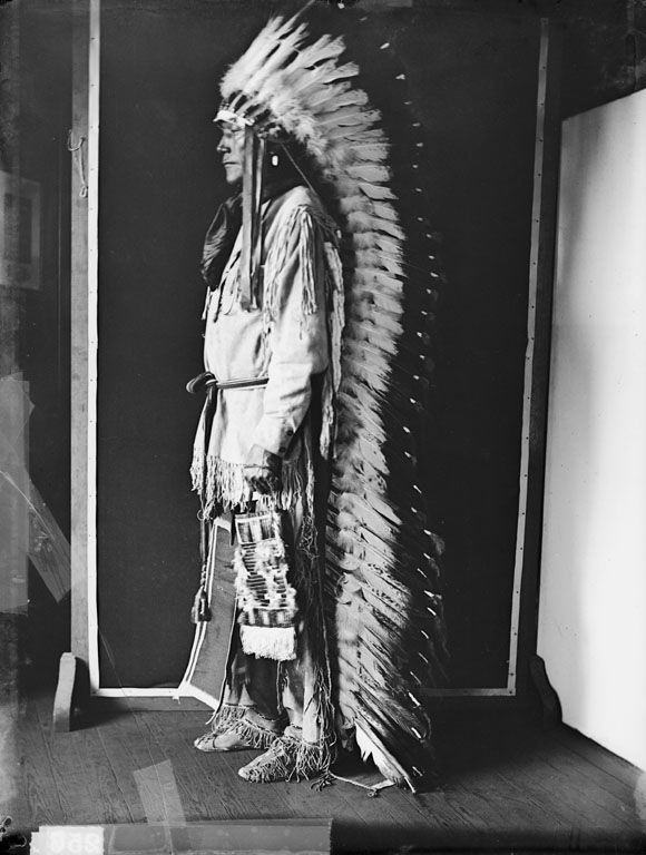 American Indians : Porcupine - Cheyenne 1907.
