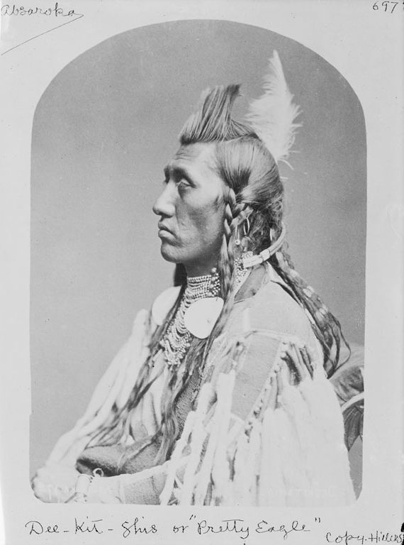 American Indians : Pretty Eagle - Crow 1880.