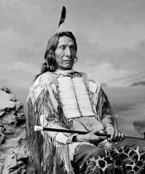 American Indians : Red Cloud - Oglala 1880.