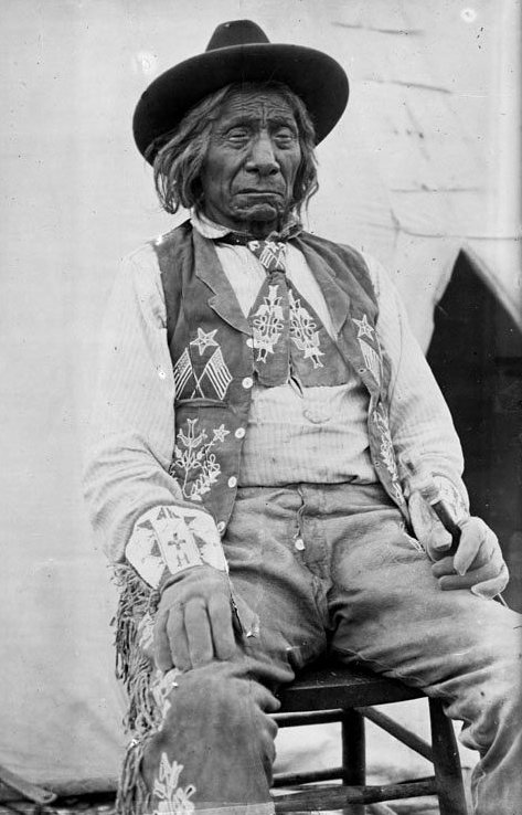 American Indians : Red Cloud - Oglala 1900.
