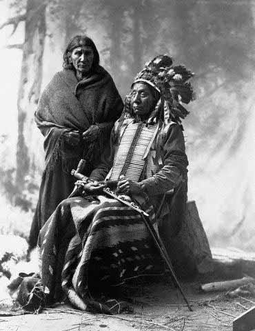 American Indians : Red Cloud Wife.