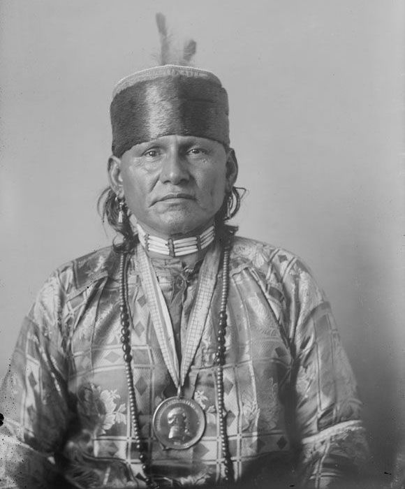 American Indians : Red Eagle - Osage 1908.