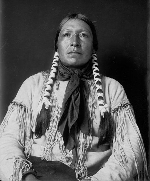 American Indians : Scabby - Cheyenne 1908.