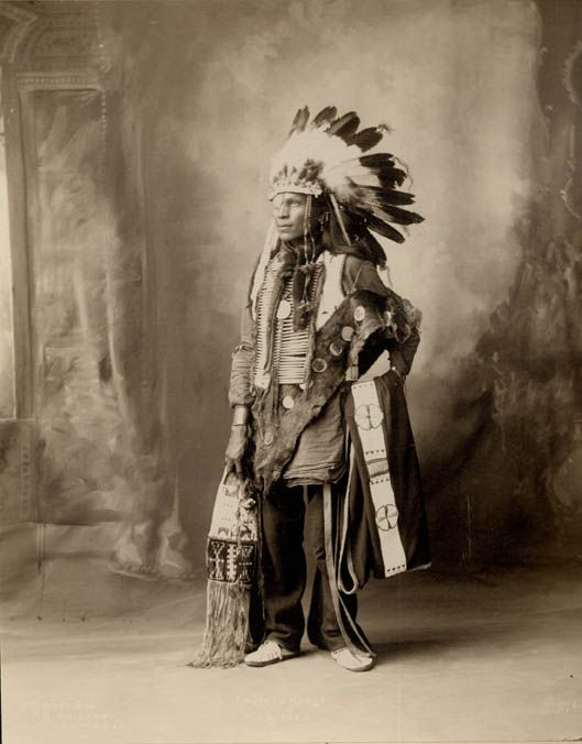 American Indians : Spotted Horse - Oglala 1898.
