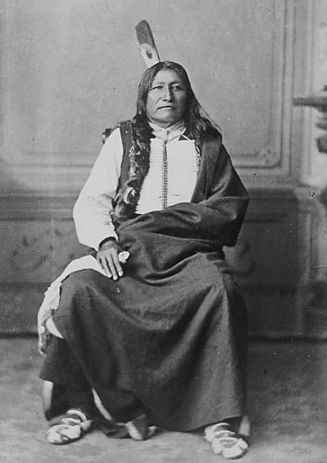 American Indians : Spotted Tail - Sicangu 1879.