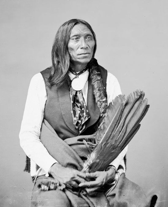 American Indians : Swift Bear - Sicangu 1872.