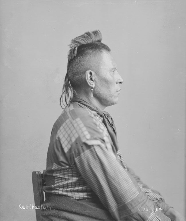 American Indians : Tall Chief - Osage 1894.