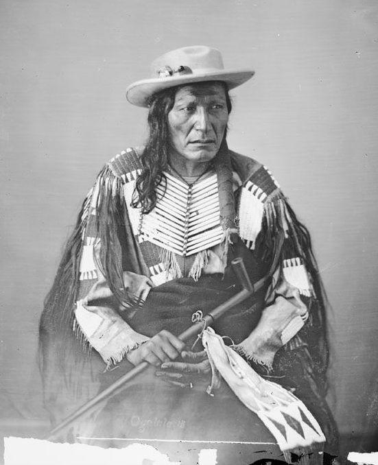 American Indians : Tall Wolf - Oglala 1872.