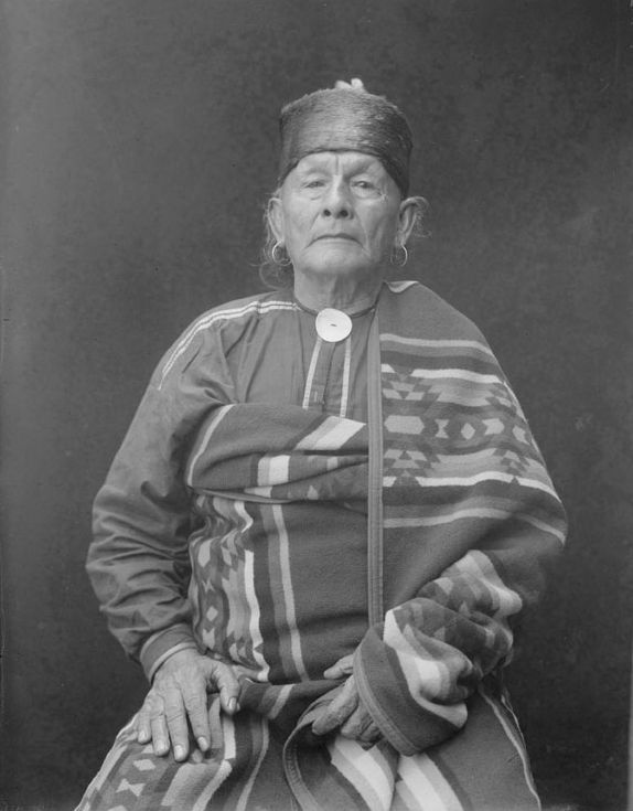 American Indians : Walking Dog - Osage 1923.