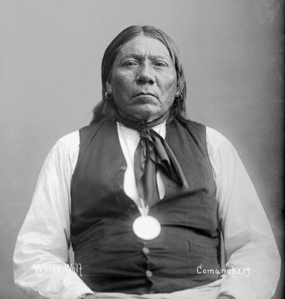 American Indians : White Wolf - Comanche 1894.