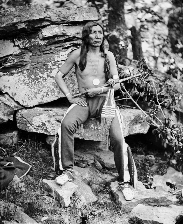 American Indians : Yellow Bear - Arapaho 1875.