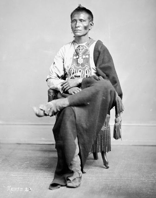 American Indians : Yellow Chief - Kaw.