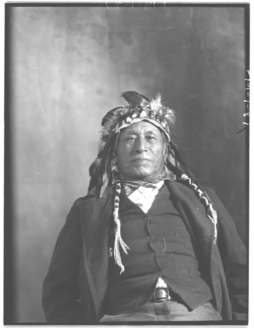 American Indians : Unnamed Indian from Rocky Boy.