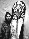 Cayuse Mother And Child - Sabina Minthorn