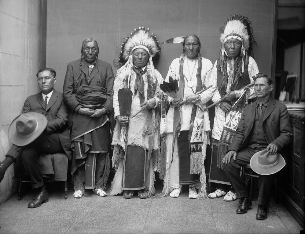Cheyenne Men 1924