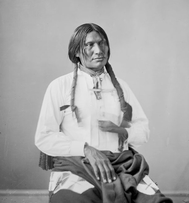 American Indians : Big Foot - Mniconjou 1872.