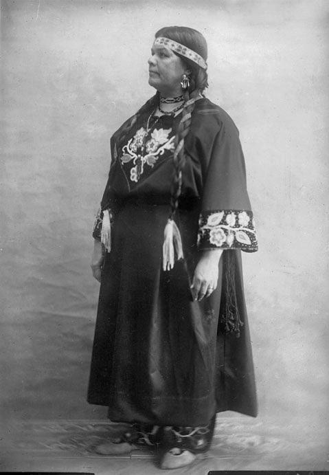american indians bitawagijigokwe double sky woman