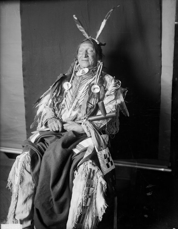 American Indians : Black Chicken or Prairie Hen - Yankton Dakota 1905.
