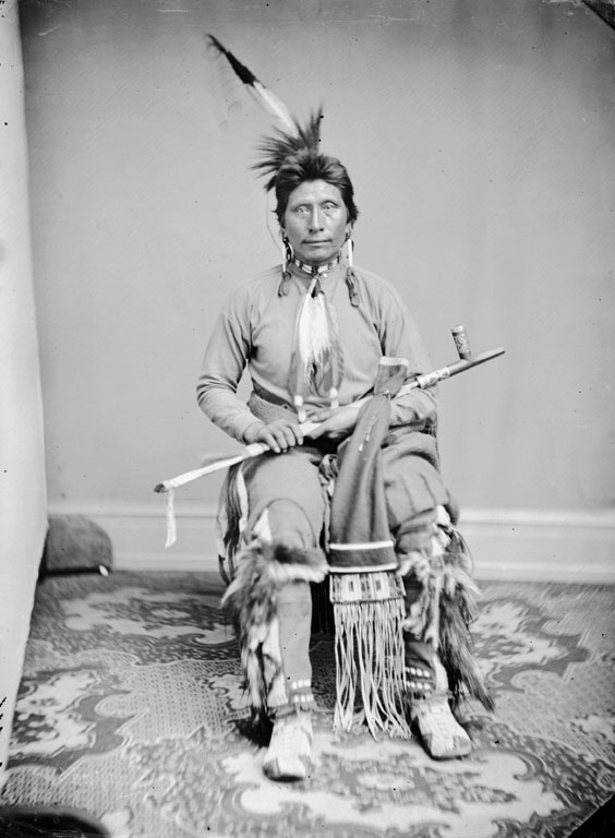 American Indians : Black Eagle - Yankton Dakota 1867.