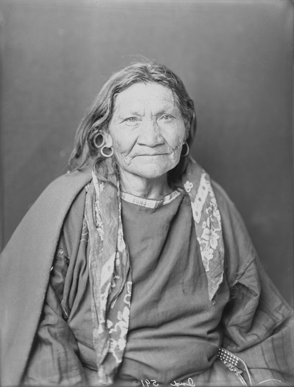 American Indians : A Blackfoot Woman 1900.