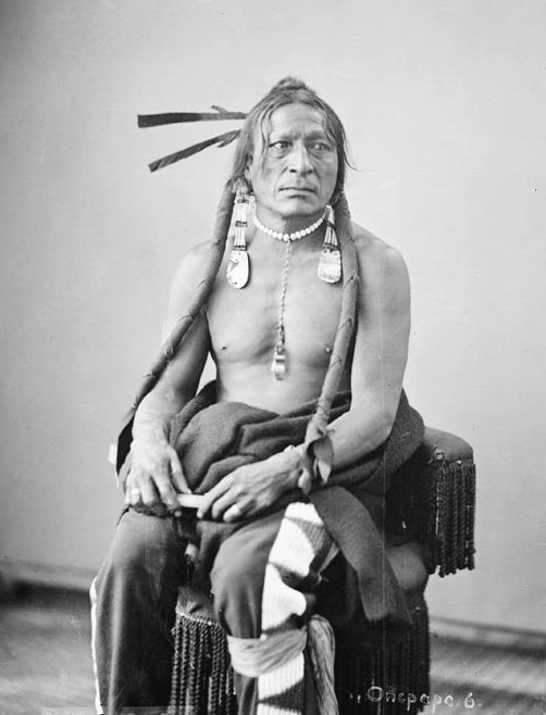 American Indians : Bloody Mouth - Hunkpapa 1872.