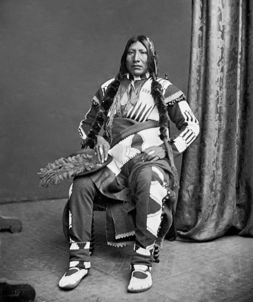 American Indians : Co Ho (Lame Man) - Ute 1873