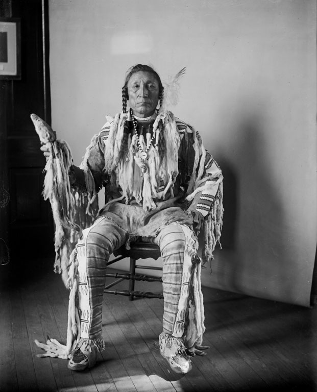 American Indians : Curly Bear - Blackfoot 1903.